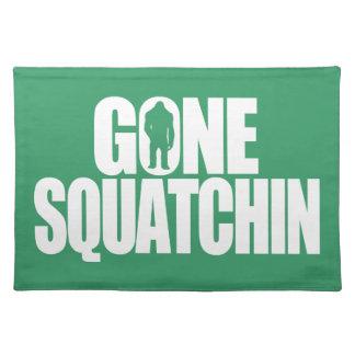 Gone Squatchin Placemat