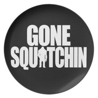 Gone Squatchin Plate