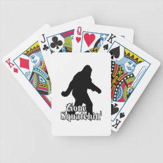 Gone Squatchin' Playing Cards