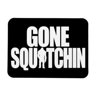 Gone Squatchin Flexible Magnets