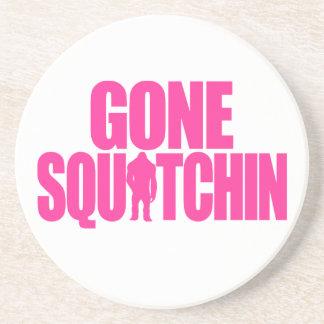 Gone Squatchin Sandstone Coaster