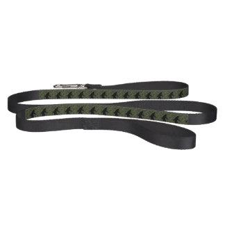 Gone Squatchin Silhouette on Digital Camouflage Pet Leash