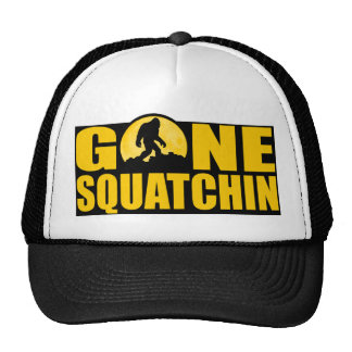 GONE SQUATCHIN *Special* BARK AT THE MOON edition Cap
