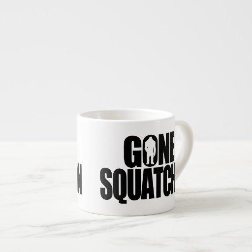 Gone Squatchin Espresso Mugs
