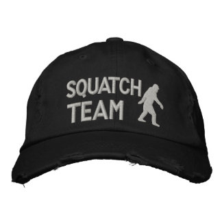 Gone Squatchin squatch team Embroidered Hats