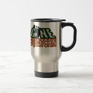 Gone Squatchin Stainless Steel Travel Mug