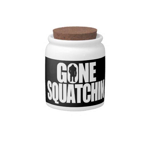 Gone Squatchin Candy Jar