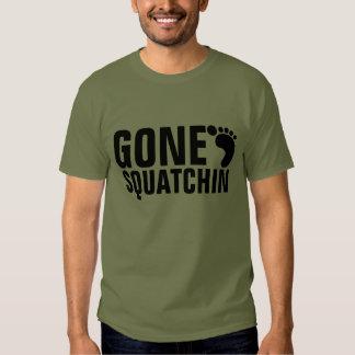 GONE SQUATCHIN T-SHIRT | FATIGUE GREEN