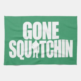 Gone Squatchin Towels
