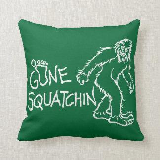 Gone Squatchin Throw Cushion
