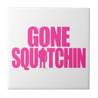 Gone Squatchin Ceramic Tiles