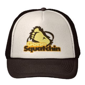 Gone Squatchin Trucker Hat. Cap