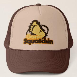 Gone Squatchin Trucker Hat. Trucker Hat