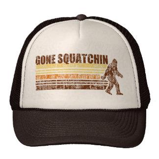 Gone Squatchin Vintage Distressed Retro Hat