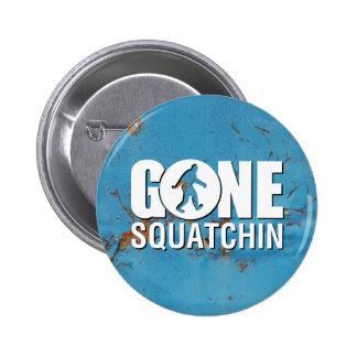 Gone Squatchin Vintage Pinback Button