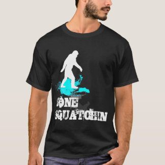 Gone Squatchin with Bigfoot logo T-Shirt