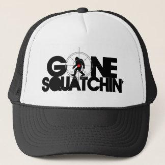 Gone Squatchin' with Bullseye Trucker Hat