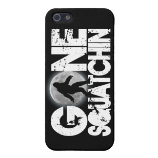 Gone Squatchin with full moon background iPhone 5 Cover