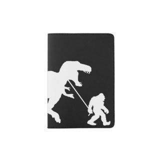 Gone Squatchin with T-rex Passport Holder