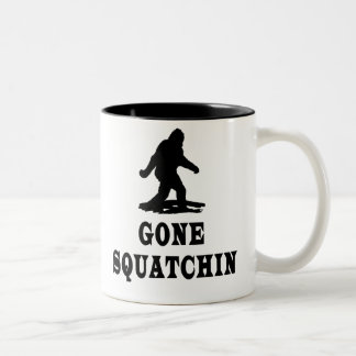Gone Squatching, Finding Bigfoot, Cups Two-Tone Coffee Mug