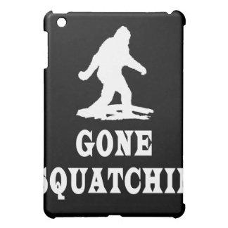 Gone Squatching, Finding Bigfoot, Squatch iPad Mini Cases