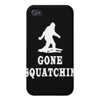 Gone Squatching, Finding Bigfoot, Squatch iPhone 4 Covers