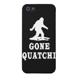 Gone Squatching, Finding Bigfoot, Squatch iPhone 5 Cover