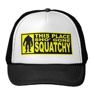 Gone Squatchy Hat - Finding Bigfoot