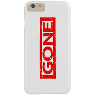 Gone Stamp Barely There iPhone 6 Plus Case