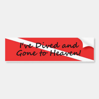 Gone to Heaven Bumper Sticker