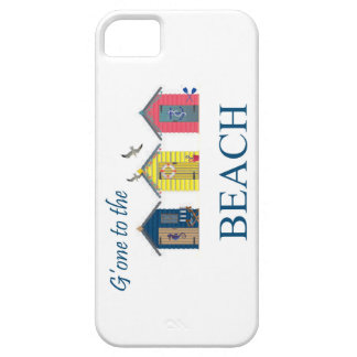 Gone to the Beach Huts seagulls cover