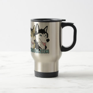 Gone to the Snow Dogs Travel Mug