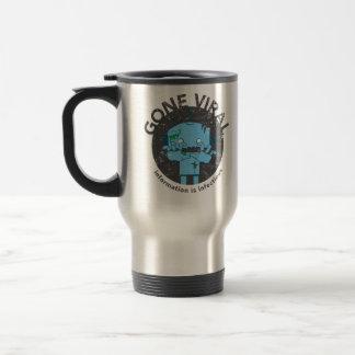Gone Viral: AJ the Robot Zombie Travel Mug