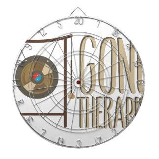 Gong Therapist Dartboard