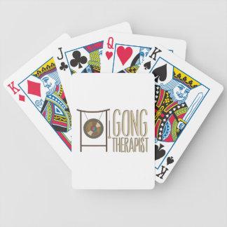 Gong Therapist Poker Deck
