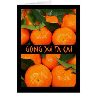 Gong Xi Fa Cai, Chinese New Year, Mandarin Card
