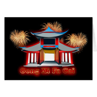 Gong Xi Fa Cai Chinese New Year Vietnamese New Yea Greeting Cards