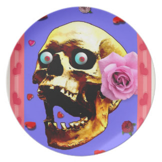 """Gonna Luv U 2 Death!"" Plate"