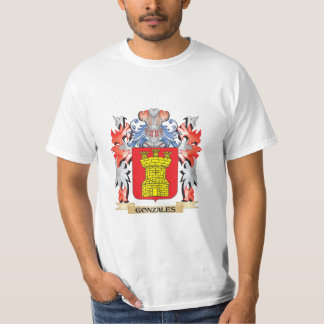Gonzales Coat of Arms - Family Crest T-Shirt