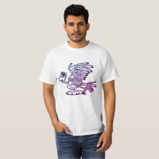 Gonzo flying Love Dove Climate change environment T-Shirt