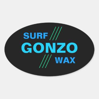 GONZO SURF WAX stickers (4)