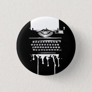 Gonzo Typewriter Flair 3 Cm Round Badge