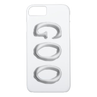 Goo   Clear See Through Gel Font   Customizable iPhone 8/7 Case