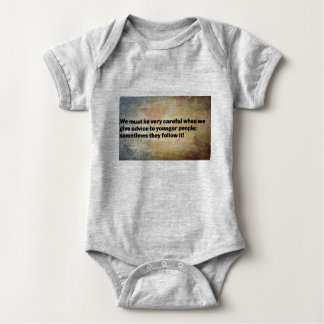 Good Advice Babywear Baby Bodysuit