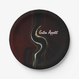 Good appetite paper plate