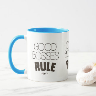 Good Bosses Rule – Dark Brown Type Mug