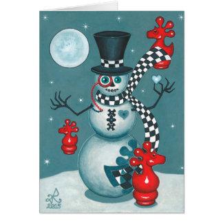 Good-Bye Mr. Winter Frost Bite! Card