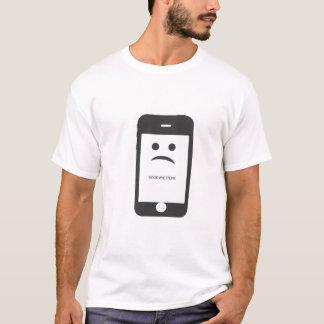 good bye steve white t-shirt