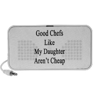 Good Chefs Like My Daughter Aren't Cheap PC Speakers