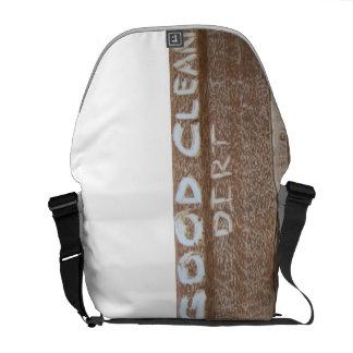 Good Clean Dirt 'Tailgate Talk' Messenger Bags